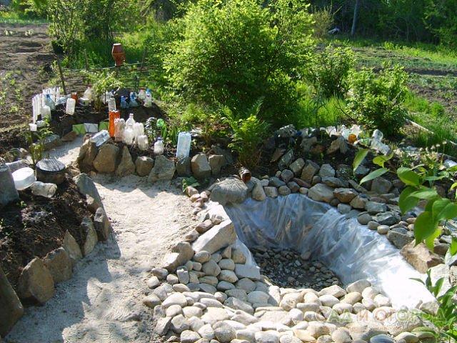 Мини водоемы в саду своими руками