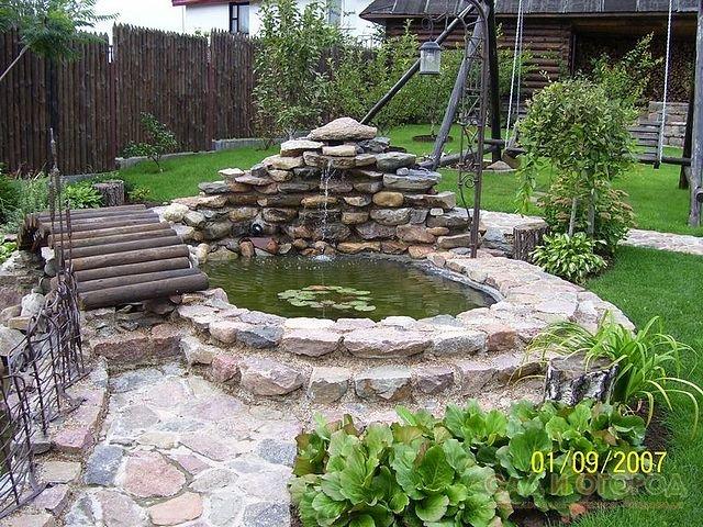Пруд водоем своими руками в саду