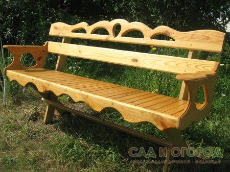 Выбираем скамейки для дачи