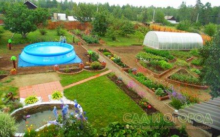 Планируем садовый участок